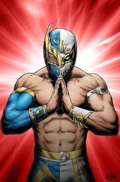Usos Wwe, Blue Demon, Luchador Mask, Wrestling Posters, Joker Iphone Wallpaper, Eddie Guerrero, Apocalypse Art, Cosplay Armor, Wwe Wallpapers