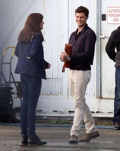 Jamie #FSOG Jamie & Dakota on Fifty Shades of Grey Set, Oct14th