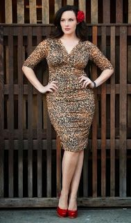 48 Best Plus Size Leopard Print Dress images in 2014 | Plus size ...