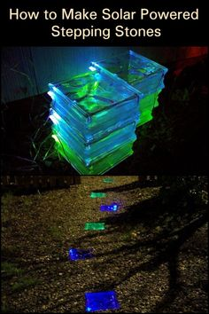 This DIY project doesnt only give ample lighting, it also makes your walkway more attractive at night.