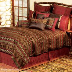 Rustic Decor ~ Cascade Rustic Bedding Collection