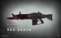 Destiny might have the coolest gun ever conceived, as Bungie unveils 'The Red Death'