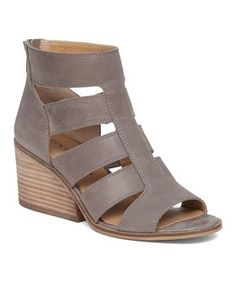 Dark Driftwood Sortia Leather Sandal