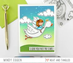 This set is simply magical! Dream big with this set, and soon you'll be soaring! Has coordinating Dream Big dies Neat And Tangled, Tim Holtz Distress Ink, Distress Oxide Ink, Purple Hues, Over The Moon, Copic Markers, Colour Images, Dream Big, My Images