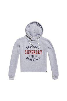 b4958d84d96a9e Superdry Damen Pullover Playoff Crop cut Hoodie. #Affiliate #Werbung #Hoodie  #Zipper