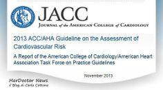 Colesterolo, linee guida 2013