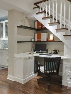 Great Ways to Utilize Under-the-Stair Space