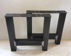 Items similar to Industrial Steel I Beam Bar Base Kitchen Island Heavy Metal Iron Table Desk Legs on Etsy