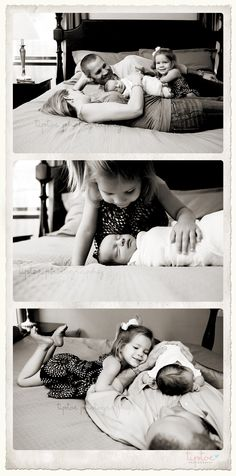 Another great idea to capture the life of a loving family. Very well done.