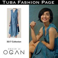 #TubaBüyüküstün's Dress by @houseofogan 👗💙  -   As Sühan in #CesurVeGüzel Ep: 31  #tuba_büyüküstün #tubabuyukustun #tuba_buyukustun #tubabustun #TubaFashion   #SuhanStyle #TubaStyle
