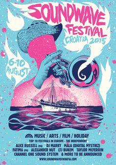 Sound wave festival 2015, Croatie