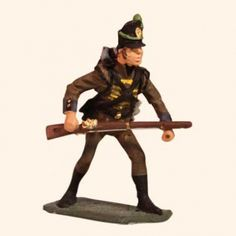 E 110 Cassadores 30mm Willie Foot  Portuguese or Foot Guards Light Company Napoleonic Wars 1803 to 1815  30mm Willie War game figures  All the figures are made from white metal and are available as unpainted kit, castings, they can also be supplied fully hand painted in matt.