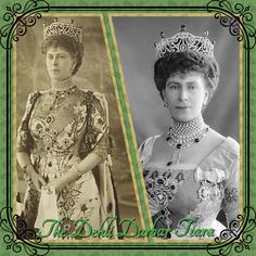 3rd May and today's tiara is the Dehli Durbar Tiara. After being crowned King and Queen in Westminster Abbey, King George V became the first and only sovereign to be crowned Emperor of India. Queen Mary had a new tiara made for the occasion breaking down the Boucheron Loop Tiara, and adding the Cambridge Emeralds she had acquired from her own family. The tiara still exists but the emeralds have been used elsewhere.