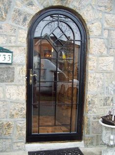 Custom Arched Top Storm Doors Amp Custom Historic Storm