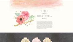 20 Artistic Watercolor Website Designs