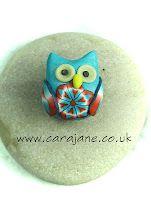Owl brooch by Cara Jane