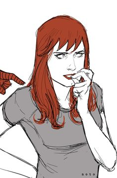 """""""Excuse me, ma'am"""" by Phil Noto"""
