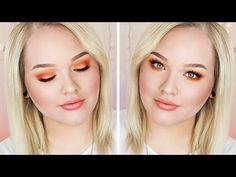 ▶ Hot Orange King's Day/Koningsdag Makeup Tutorial - YouTube