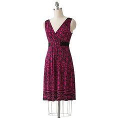 I like :D Apt. 9 Floral Surplice Dress $29.99 (original 54.00)