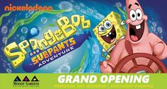 SpongeBob SubPants Adventure Opening this Memorial Weekend at Moody Gardens Galveston, Texas    Moody Gardens is offering $5 off the price of a Moody Gardens One-Day Value Pass to my social media and blog followers. Use Discount code MGBLOG03 expires on June 30, 2015, and is limited to up to 6 one-day passes for one transaction.