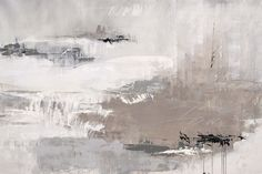 Contemporary abstract painting of neutral colors with harsh black scribbles. Eternal City Wall Art by Joshua Schicker from Great BIG Canvas. Painting Prints, Wall Art Prints, Poster Prints, Canvas Prints, Framed Prints, Paintings, Grey Abstract Art, Winter Painting, Aesthetic Painting