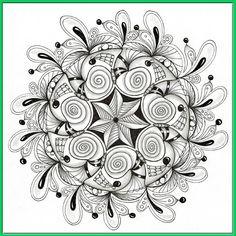Seven Shells mandala