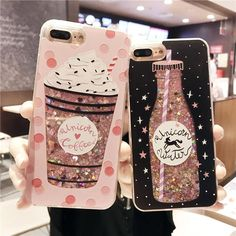 Girls Bottle Quicksand Iphone 7 Case Silicone TPU PC Dynamic Liquid Glitter Cover For Iphone 6 7 Plus Fundas E - Best of Wallpapers for Andriod and ios Iphone 7 Cases Silicone, Iphone 6 Cases, Mobile Phone Cases, Cell Phone Cases, Iphone 7 Plus, Iphone 7 Coque, Glitter Iphone 6 Case, Pink Iphone, Unicorn Phone Case