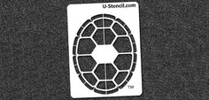 "$9.99 Product Details Maryland Terrapin Shell Mini Stencil (MRLDOOS-201)  1 Panel Stencil  Size: 11"" x 14.5"""