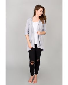 Layer up your favourite Buttercream pieces with this lightweight cardi!