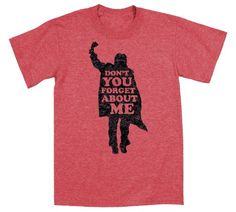 Iconic movie moment from The Breakfast Club! Don't You Forget About Me 80's #TBT Music - Mens T-Shirt - LC Trendz