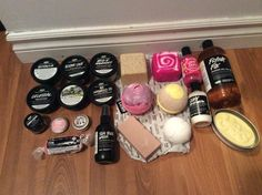 So this is my lush collection and I can guarantee that it's only going to get bigger and bigger :D
