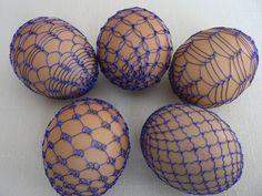 drátovaná vajíčka