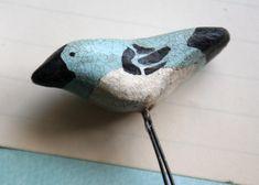 the adventures of bluegirlxo: artful thursdays #16.....paper clay bird tutorial