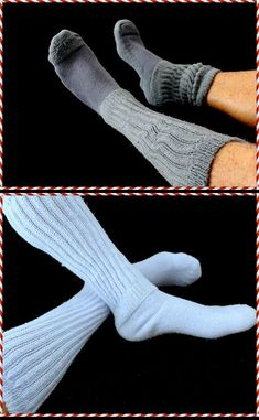 658f0fa64 Slouch socks are made of thick