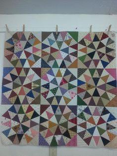 Spring is here! Grandma's Surprise Quilt--Foundation Paper Piecing