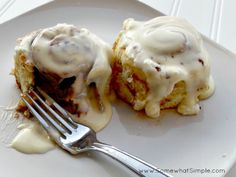 My family has cinnamon rolls every Christmas morning- it is definitely one of my favorite traditions. I love baking them on Christmas Eve with my kids… and indulging on 1 before bed! My mothe…