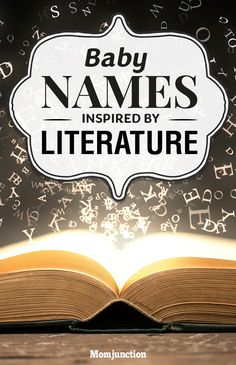 10 Baby Names Inspired By Literature