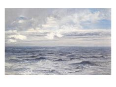 Silver Sea, 1869 (Oil on Canvas)'I want an oversized version of this