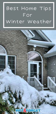 Read about the best home tips for winter weather! Winter Survival, Home Safety, Snow And Ice, Severe Weather, Diy Home Improvement, Home Repair, Home Hacks, Garden Hose