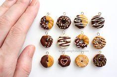 Simplystella's Sketchbook: Miniatures - donuts charms