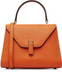 Valextra Mini Leather Shoulder Bag