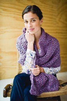 Châle Confort Tranquille (crochet)
