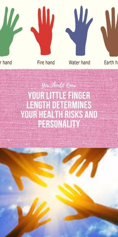 Your Little Finger Length Determines Your Health Risks and Personality - Keto Soup Wellness Fitness, Fitness Diet, Health Fitness, Health Yoga, Health And Fitness Articles, Health And Nutrition, Natural Cures, Natural Health, Glowing Skin Diet