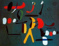 'Painting', 1933 by Joan Miro (1893-1983, Spain)