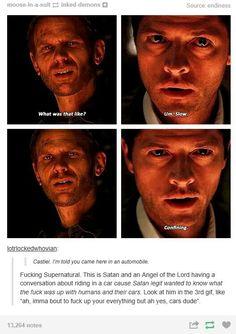 Castiel and Lucifer | Supernatural fandom