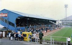Muirton Park, Perth. Former home of St Johnstone FC.
