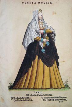 VENEDIG / VENEZIA ITALIEN KOSTÜME COSTUMES WEIGEL 1577   eBay