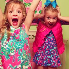 SANTA'S COMING ... Lilly Pulitzer Girls Collection