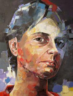 "Saatchi Online Artist sorin dumitrescu mihaesti; Painting, ""Portrait 0049"""