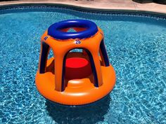 An inflatable basketball hoop provides lots of opportunity for pool games for kids. Pool Party Games, Pool Party Kids, Kid Pool, Pool Basketball, Inflatable Pool Toys, Beach Ball, Kids Swimming, Cool Pools, Games For Kids
